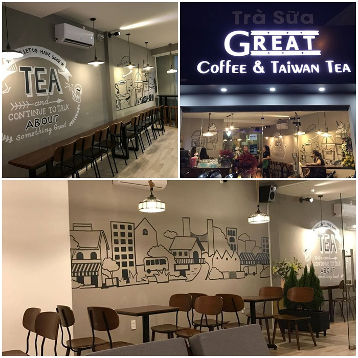 great coffee and taiwan tea tại quận 12 tphcm